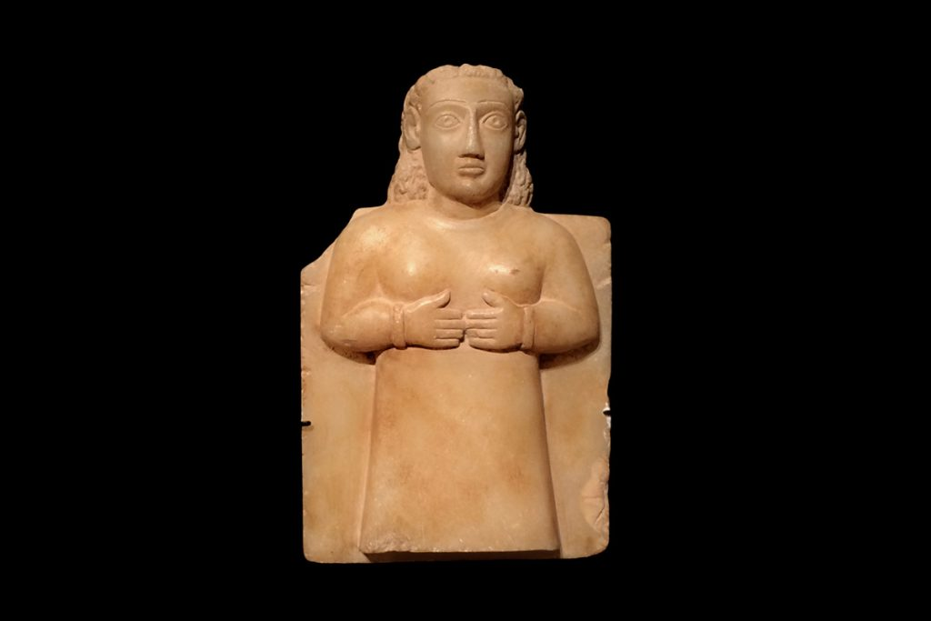 reino-saba-idolo-femenino-alabastro